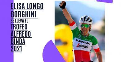 Elisa Longo Borghini se lleva el Trofeo Alfredo Binda 2021