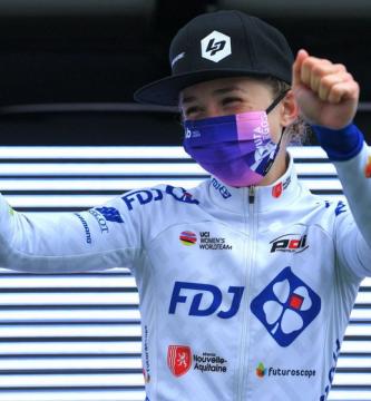 Vuelta a Burgos Feminas 2021. Cecilie Uttrup Ludwig gana la tercera etapa.